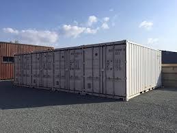 Conteneurs maritimes de stockage de matériaux Saint-Nazaire