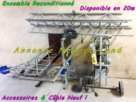 Monte matériaux lève charges & tuiles 20m Comabi Apache 5 Edimatec  Toulouse