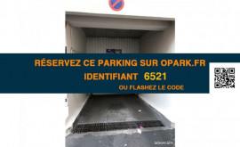 Parking à louer Rue de la Roquette Paris Paris 11ème