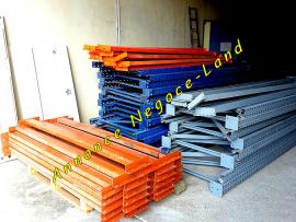Rack à palette de stockage Lourd étagères métalliques rayonnage renforcées  Toulouse
