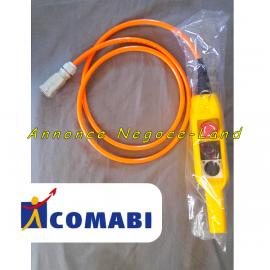 Télécommande complète pour monte matériaux & tuile lève charges Edimatec Comabi Apache 5 (neuve)  Toulouse